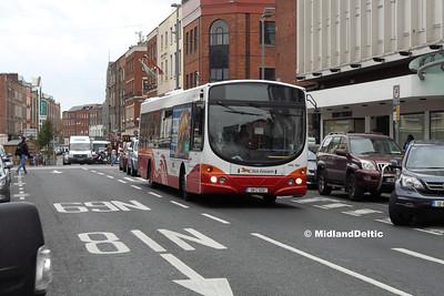 Bus Éireann VWL180, O'Connell St Limerick, 12-10-2016