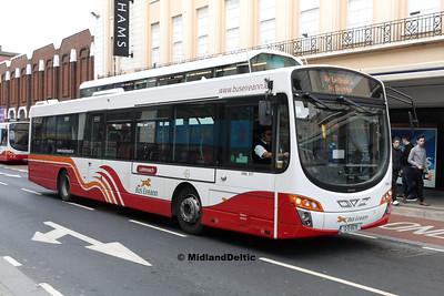 Bus Éireann VWL317, Sarsfield St Limerick, 12-10-2016