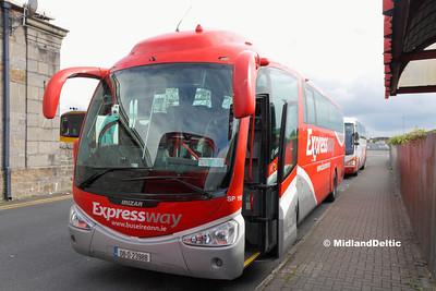 Bus Eireann SP110, Limerick Bus Station, 01-10-2016