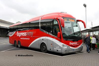 Bus Éireann SE15, Limerick Bus Station, 12-10-2016