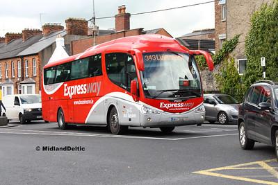 Bus Éireann SP117, Limerick, 12-10-2016
