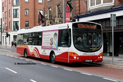 Bus Éireann VWL174, Sarsfield St Limerick, 12-10-2016