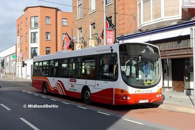 Bus Éireann VLW165, Sarsfield St Limerick, 12-10-2016