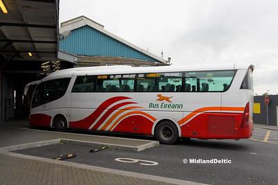 Bus Éireann SP7, Limerick Bus Station, 12-10-2016