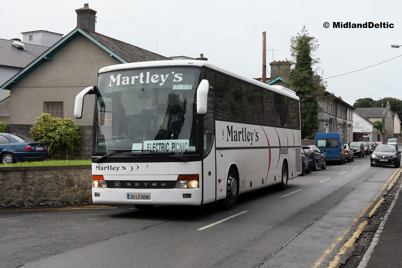Martley's 03-LS-6096, Station St Portlaoise, 02-09-2016