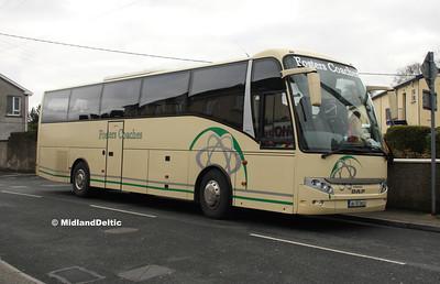 Fosters Coaches 05-TS-2932, Borris Road Portlaoise, 05-04-2016