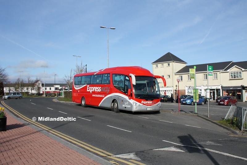 Bus Éireann SP100, James Fintan Lawlor Ave Portlaoise, 10-03-2016