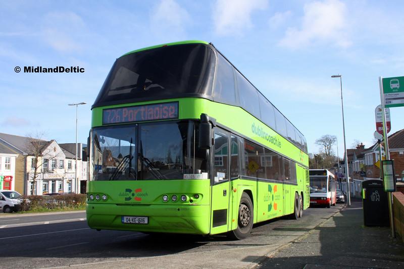 Dublin Coach 04-KE-16116, James Fintan Lawlor Ave Portlaoise, 10-03-2016