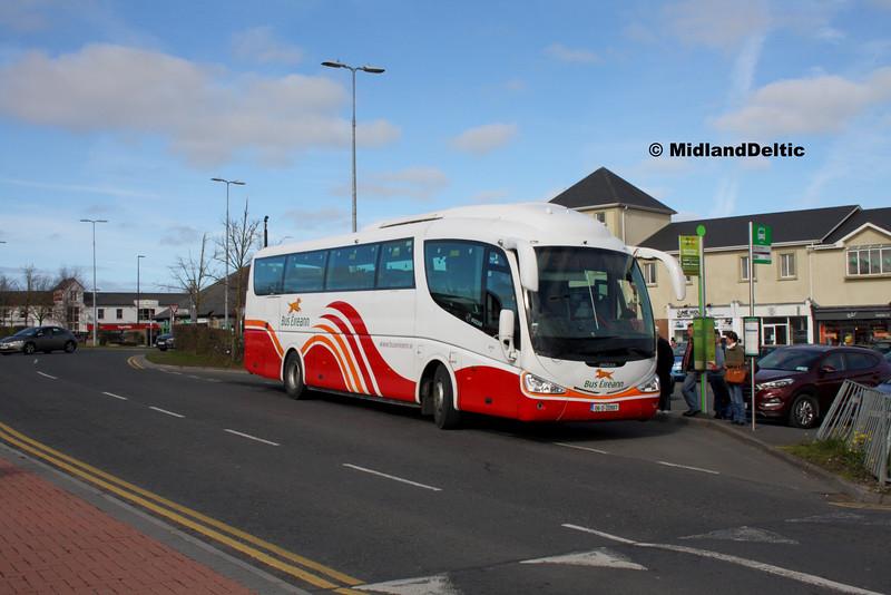 Bus Éireann SP35, James Fintan Lawlor Ave Portlaoise, 10-03-2016