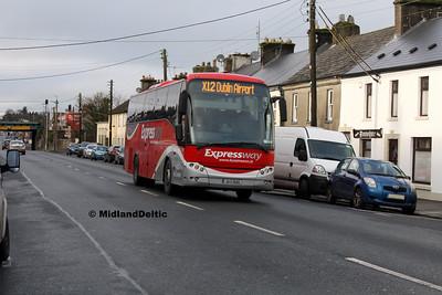 Bus Éireann LC17, Grattan St Portlaoise, 13-12-2016
