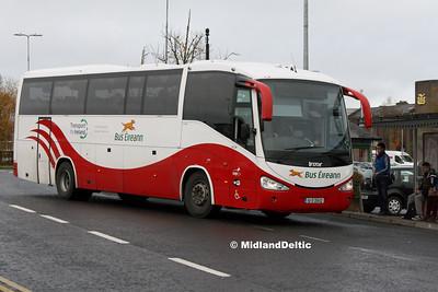 Bus Éireann SC339, James Fintan Lawlor Ave Portlaoise, 15-11-2016