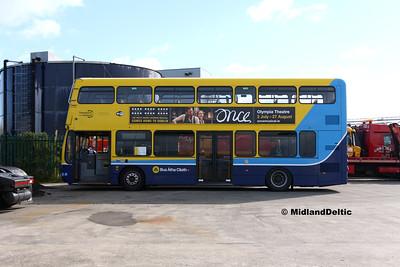 Dublin Bus SG76, Corcorans Portlaoise, 16-09-2016