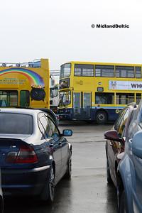Dublin Bus AX486, Corcorans Portlaoise, 16-12-2016