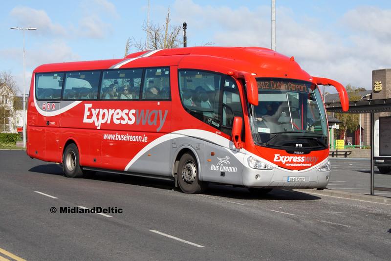 Bus Éireann SP119, James Fintan Lawlor Ave Portlaoise, 26-04-2016