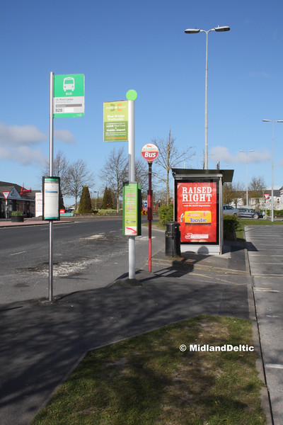 Bus Stops James Fintan Lawlor Ave Portlaoise, 26-04-2016