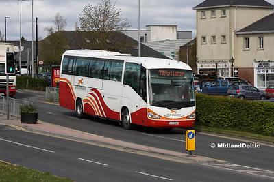Bus Éireann SC246, James Fintan Lawlor Ave Portlaoise, 26-04-2016