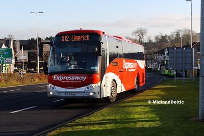 Bus Éireann LC22, James Fintan Lawlor Ave Portlaoise, 29-11-2016
