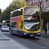 Dublin Bus GT8, O'Connell St Dublin, 21-09-2017