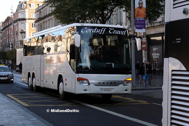 Corduff Travel 10-CW-1, O'Connell St Dublin, 21-09-2017