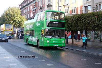 Dublin Bus AV65, O'Connell St Dublin, 21-09-2017