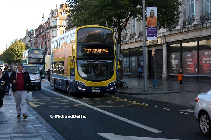 Dublin Bus SG153, O'Connell St Dublin, 21-09-2017