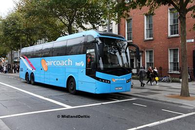 First Aircoach KT58FTC, O'Connell St Dublin, 28-10-2017