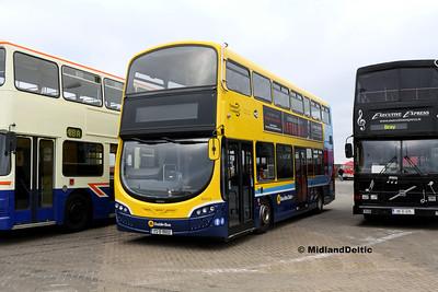 Dublin Bus SG313, Dún Laoghaire Harbour, 28-10-2017