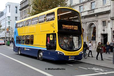 Dublin Bus SG342, O'Connell St Dublin, 28-10-2017