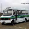 Ards Bus Preservation IBZ3051, Dún Laoghaire Harbour, 28-10-2017