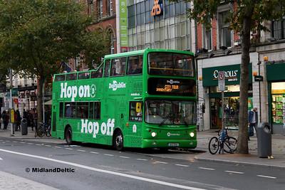 Dublin Bus AX511, O'Connell St Dublin, 28-10-2017