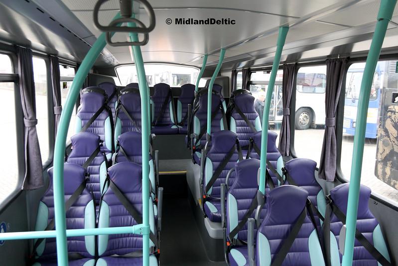Dublin Mini Coaches 171-D-25062 (Interior), Dún Laoghaire Harbour, 28-10-2017