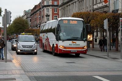 Bus Éireann LC218, O'Connell St Dublin, 28-10-2017