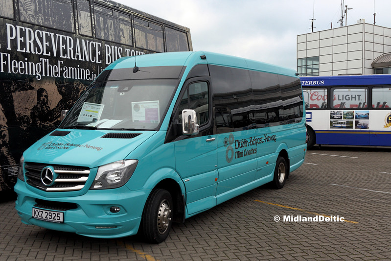 Dublin Mini Coach KXZ2925, Dún Laoghaire Harbour, 28-10-2017