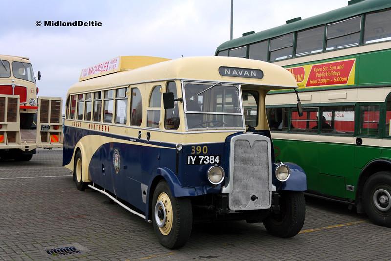 Irish Transport Museum IY7384, Dún Laoghaire Harbour, 28-10-2017