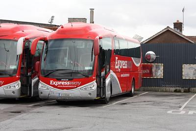 Bus Éireann SP91, Tralee Depot, 14-10-2017