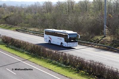 M&A Coaches 08-WW-4000, M7 Junction 17 Portlaoise, 24-03-2017