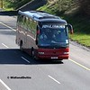 Foyle Coaches F15YLE, M7 Junction 17 Portlaoise, 24-03-2017
