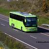 Dublin Coach 10-KE-2550, M7 Junction 17 Portlaoise, 24-03-2017