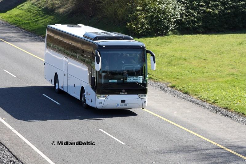 Curtin Travel 151-L-1000, M7 Junction 17 Portlaoise, 24-03-2017