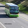 Dublin coach 08-D-17182, M7 Junction 17 Portlaoise, 24-03-2017