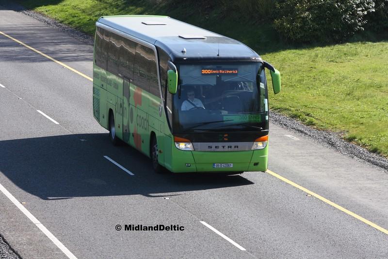 Dublin Coach 05-D-42097, M7 Junction 17 Portlaoise, 24-03-2017