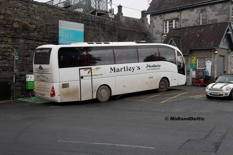 Martley's 04-D-60817, Portlaoise Railway Station, 04-09-2017