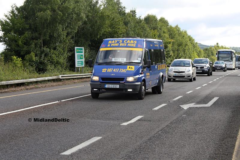 Rays Cabs 03-G-9757, Ballymaken Portlaoise, 01-09-2017