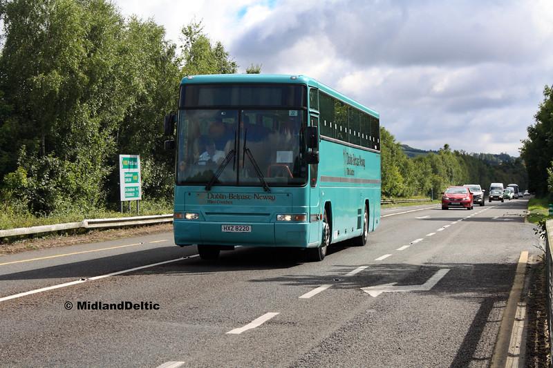 Dublin Mini Coach HXZ8220, Ballymaken Portlaoise, 01-09-2017