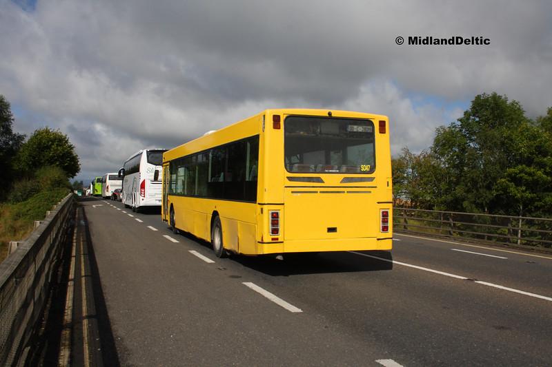 Express Bus 00-C-28219, Ballymaken Portlaoise, 01-09-2017