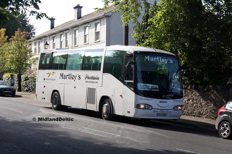 Martley's 03-LS-6145, Railway St Portlaoise, 01-09-2017