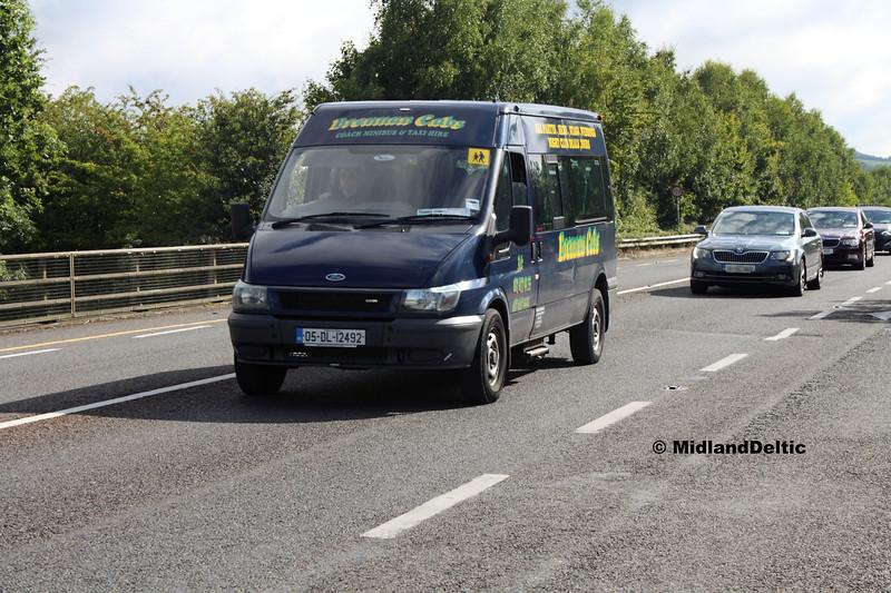 Brennan Cabs  05-DL-12492, Ballymaken Portlaoise, 01-09-2017