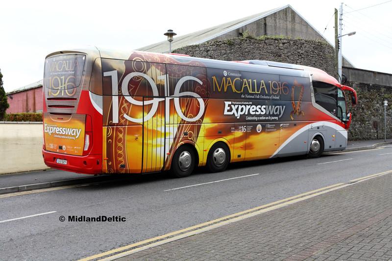 Bus Éireann SE20, Tower Hill Portlaoise, 13-10-2017