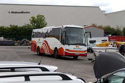 Bus Éireann LC210, Clonminam Industrial Estate Portlaoise, 14-07-2017