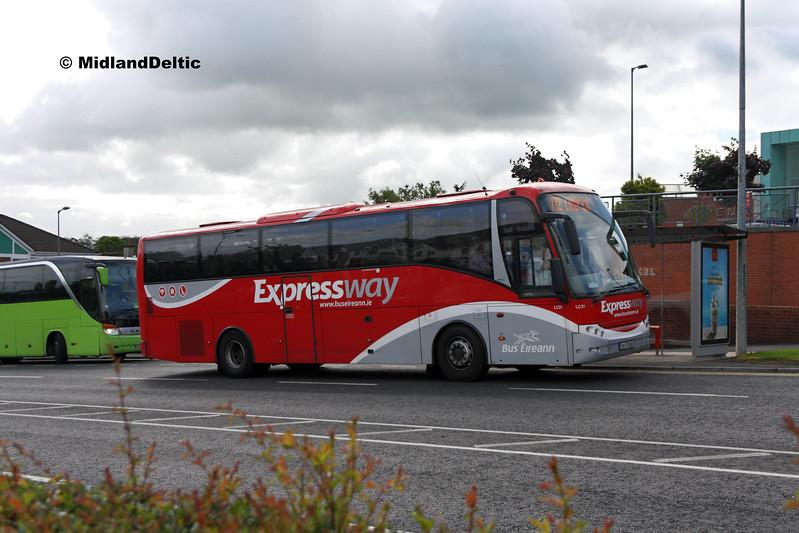 Bus Éireann LC21, James Fintan Lawlor Ave Portlaoise, 15-06-2017